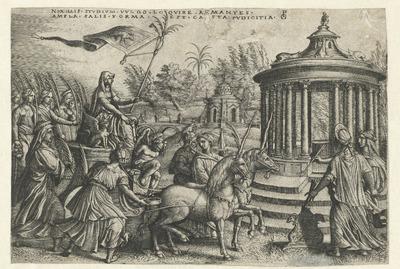 Triomf van Kuisheid; Zes triomfen van Petrarca