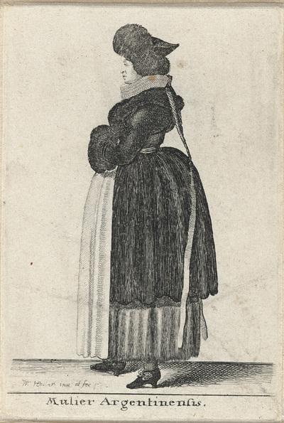Mulier Argentinensis; Vrouw uit Straatsburg; Aula Veneris; Europese klederdrachten
