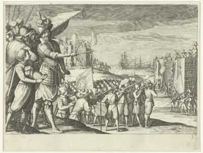 Aanval van de troepen van Ferdinando I de' Medici op twee Turkse forten; Leven van Ferdinando I de' Medici