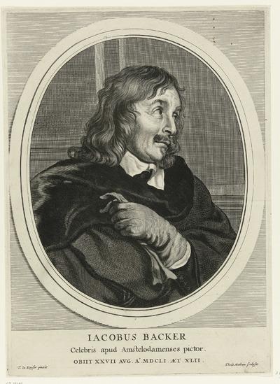 Portret van Jacob Adriaensz. Backer