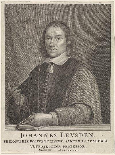 Portret van Johannes Leusden