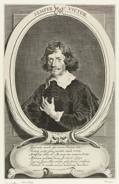 Portret van Jan Victors