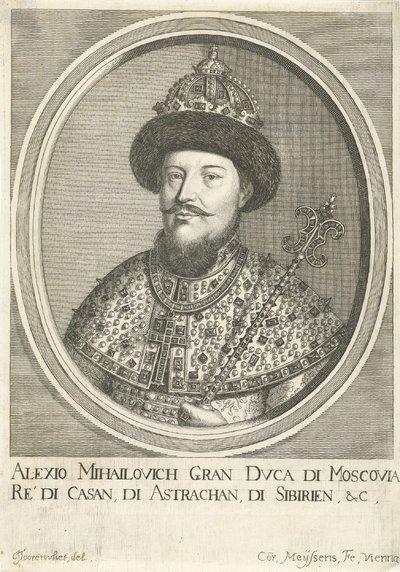Portret van Aleksej Michajlovitsj, tsaar van Rusland