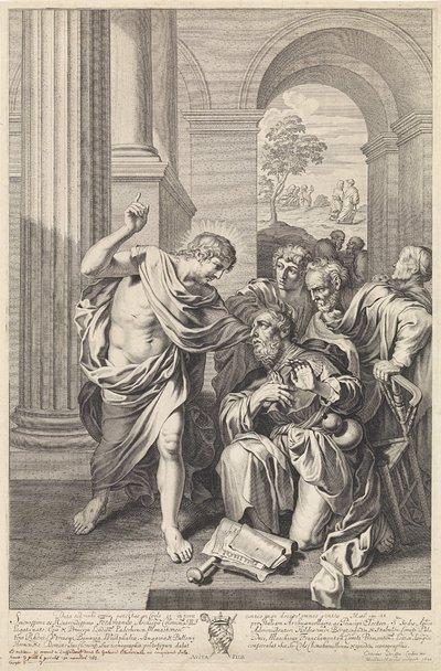 Christus verschijnt aan Jakobus de Meerdere