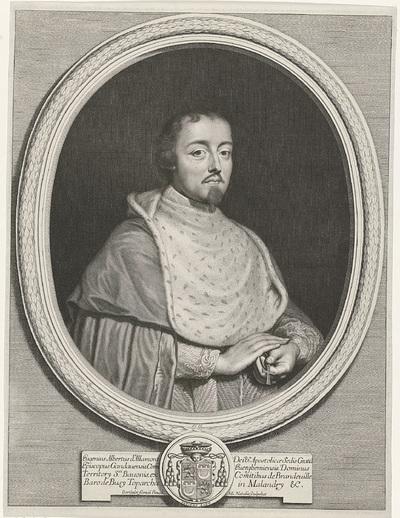 Portret van Eugenius Albertus d' Allamont