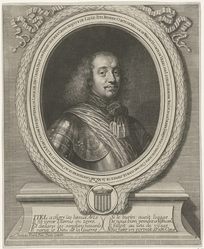 Portret van Itel-Frédéric de Merode