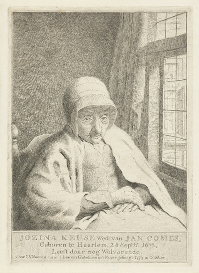 Portret van Jozina Keuse