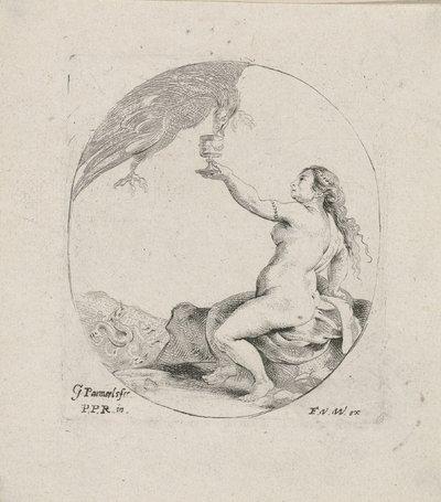 Image from object titled Psyche ontvangt water uit de Styx