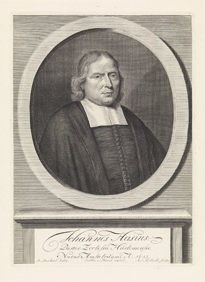 Portret van Johannes Hasius