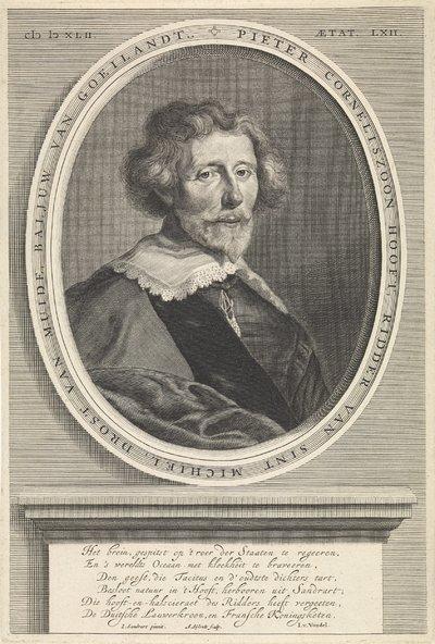 Portret van Pieter Cornelisz. Hooft