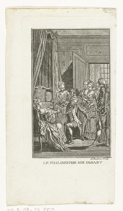 Clarissa en de filosoof; Le Philosophe soi Disant