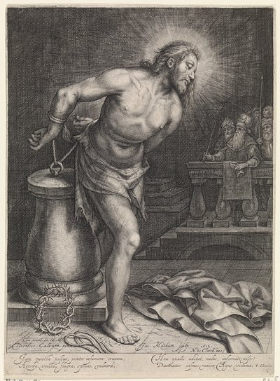 Image from object titled Christus aan de geselpaal