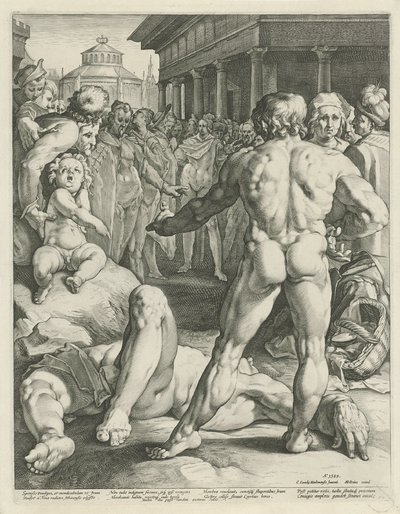 Gevecht tussen Odysseus en Irus