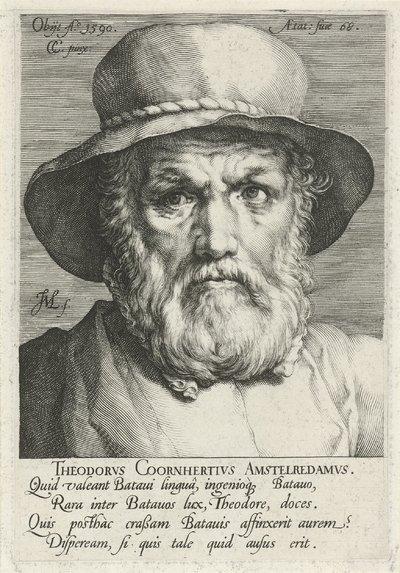 Portret van Dirck Volckertsz. Coornhert