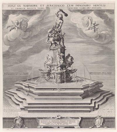 Fontein van Hercules te Augsburg