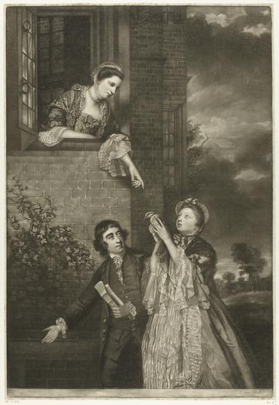 Lady Sarah Lennox, Lady Susan Strangways en C.J. Fox