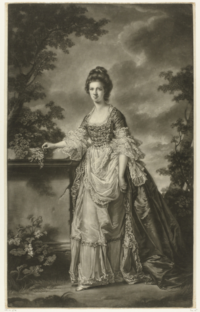 Portret van Lady Mary Boynton