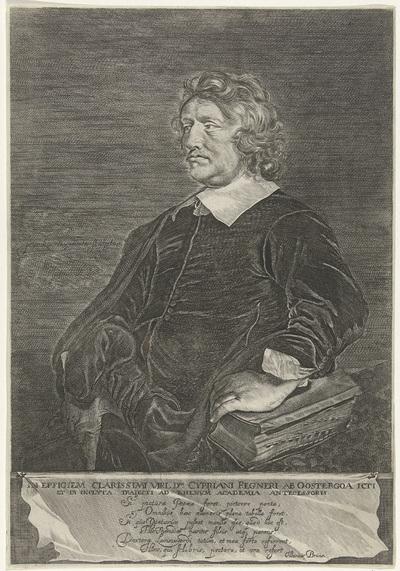Portret van Cyprianus Regnerus ab Oostringa