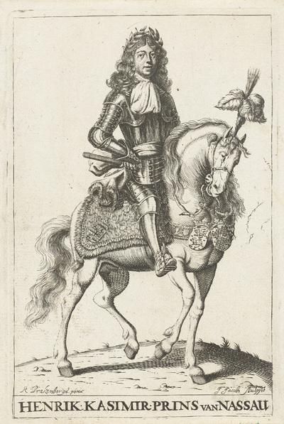 Portret van Hendrik Casimir II, prins van Nassau