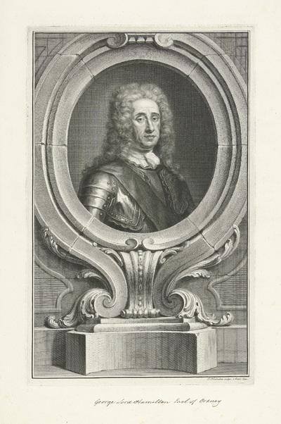 Portret van George Douglas-Hamilton