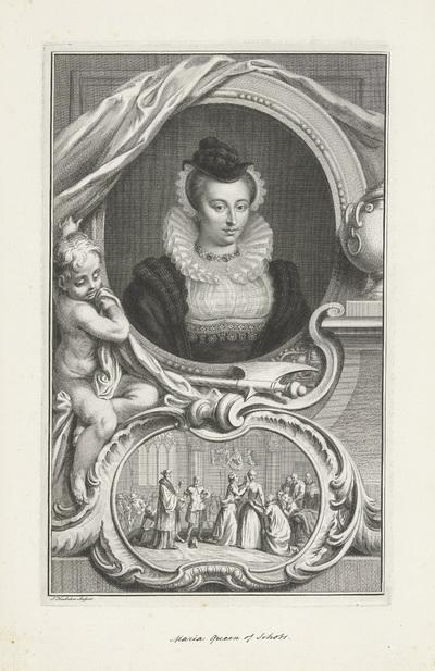 Portret van Maria I Stuart, koningin van Schotland