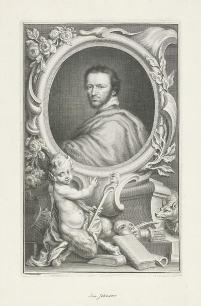 Portret van Benjamin Jonson