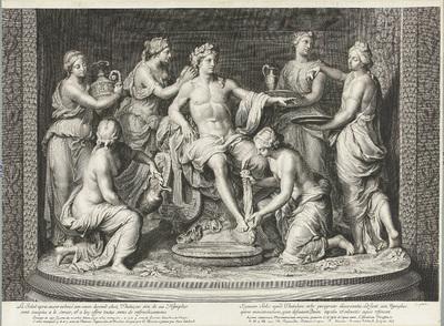 Apollo en zes muzen