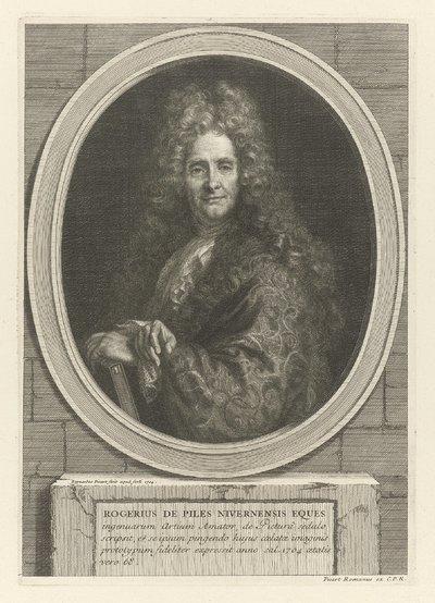 Portret van Roger de Piles