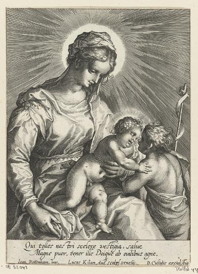 Madonna met Kind en Johannes