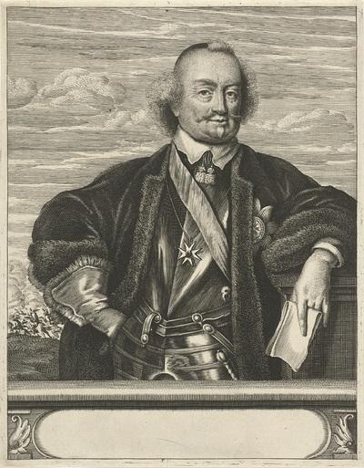 Portret van Johan Maurits, graaf van Nassau-Siegen