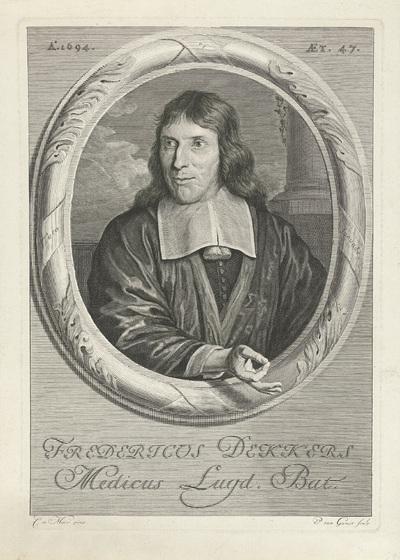 Portret van Frederik Dekkers