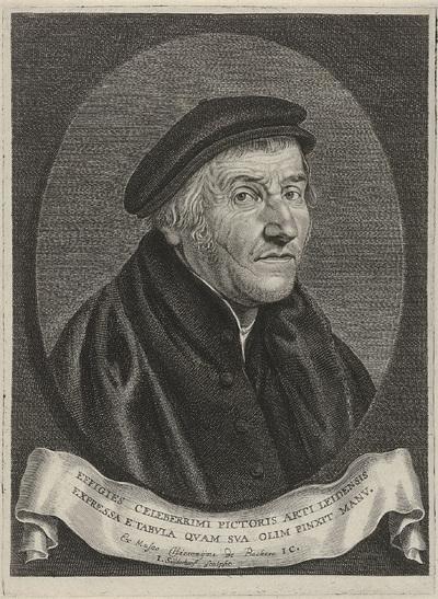 Portret van Aertgen Claesz. van Leyden