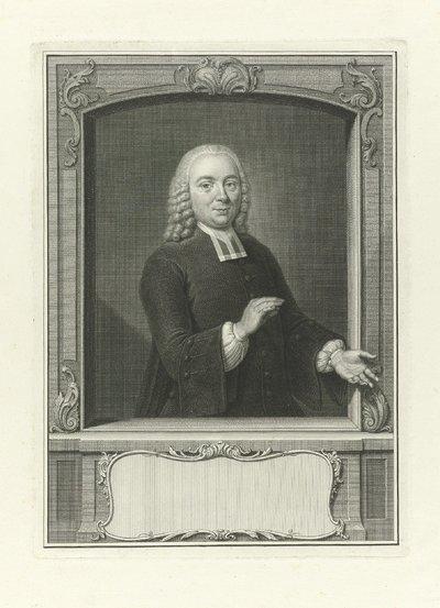 Portret van Willem van den Broek