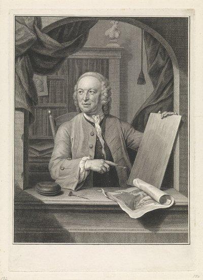 Portret van Pieter Tanjé