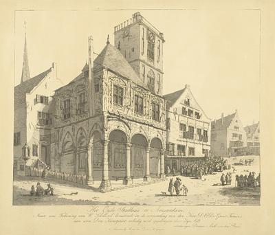 Het Oude Stadhuis van Amsterdam