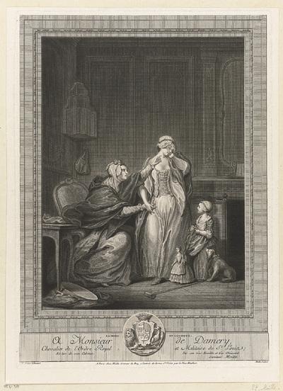 La Mère en couroux