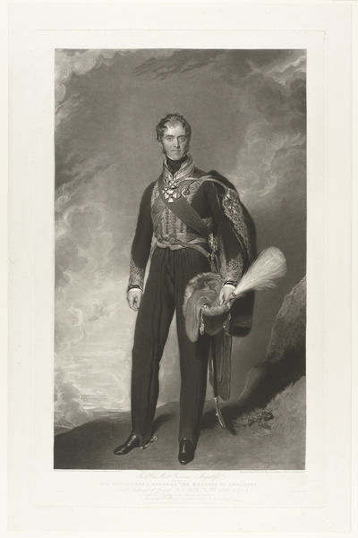Image from object titled Portrait of Henry William Paget, 1st Marquis of Anglesey