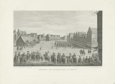 Het afdanken van de waardgelders te Utrecht, 1618; Afdanking der Waardgelders te Utrecht