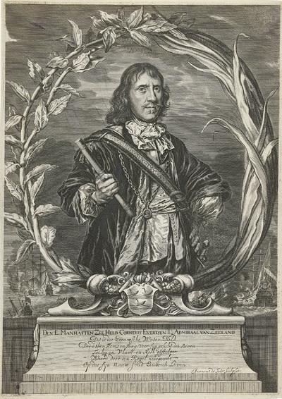 Portret van Cornelis Evertsen