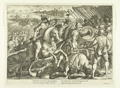 Overwinning van Karel V op Frans I bij Pavia, 1525; Triomfen van Karel V