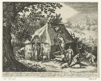 Christus bij de schaapskooi