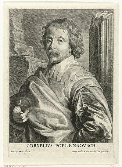 Portret van Cornelis van Poelenburgh