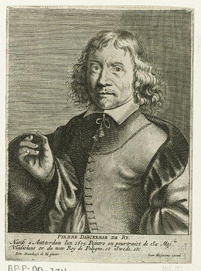 Portret van Pieter Danckerts de Rij