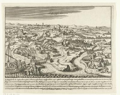 Beleg van Sluis door Parma, 1587; Slusa capta anno 1588