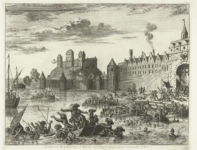 Aanslag van Maarten Schenck op Nijmegen, 1589