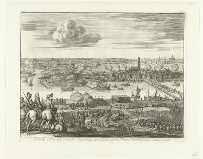 Beleg van Zaltbommel door Mendoza, 1599