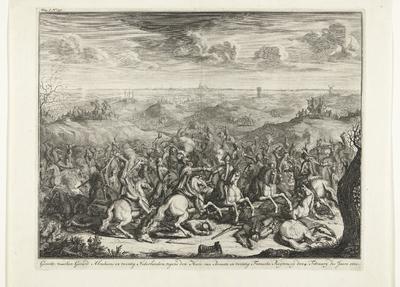 Slag van Lekkerbeetje, 1600; Gevecht tusschen Gerard Abrahams en twintig Nederlanders, tegens den Heere van Breaute en twintig Fransche Ruyters, op den 4. February des Jaars 1600