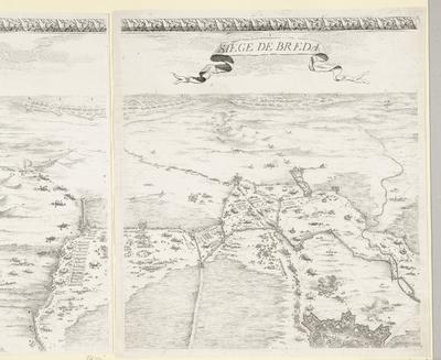 Beleg van Breda, 27 augustus 1624-5 juni 1625 (deel middenboven); Siege de Breda