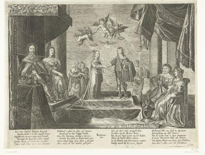 Image from object titled Huwelijk van prins Willem II en Maria Stuart, 1641