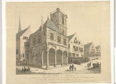 Het Oude Stadhuis van Amsterdam, 1641; Het Oude Stadhuis te Amsterdam